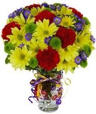En güzel hediye karışık mevsim çiçeği  Çanakkale 14 şubat sevgililer günü çiçek