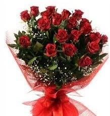 İlginç Hediye 21 Adet kırmızı gül  Çanakkale çiçek mağazası , çiçekçi adresleri