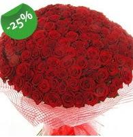 151 adet sevdiğime özel kırmızı gül buketi  Çanakkale hediye sevgilime hediye çiçek