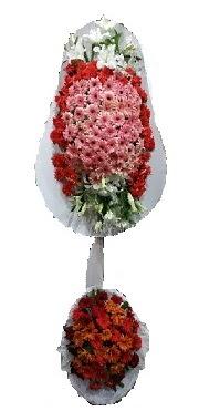 çift katlı düğün açılış sepeti  Çanakkale çiçek online çiçek siparişi