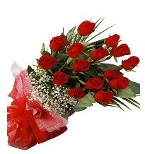 15 kırmızı gül buketi sevgiliye özel  Çanakkale çiçekçiler