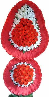 Çanakkale güvenli kaliteli hızlı çiçek  Çift katlı kaliteli düğün açılış sepeti