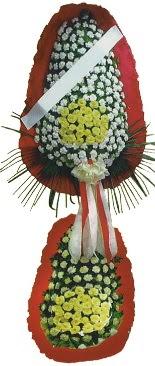 Çift katlı düğün açılış çiçeği  Çanakkale çiçekçi telefonları