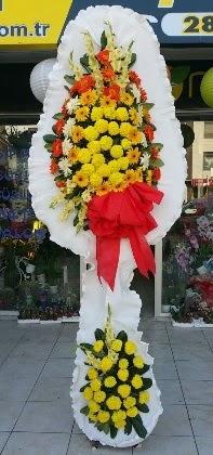 Çift katlı düğün nikah açılış çiçeği  Çanakkale ucuz çiçek gönder
