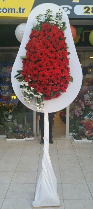 Tek katlı düğün nikah açılış çiçeği  Çanakkale yurtiçi ve yurtdışı çiçek siparişi