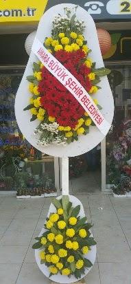 Çift katlı düğün nikah açılış çiçek modeli  Çanakkale anneler günü çiçek yolla