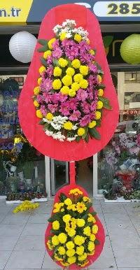 Çift katlı düğün nikah açılış çiçek modeli  Çanakkale güvenli kaliteli hızlı çiçek