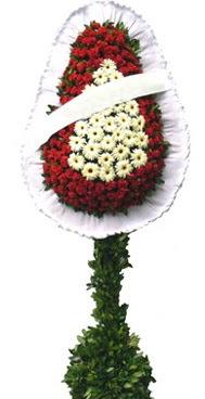 Çift katlı düğün nikah açılış çiçek modeli  Çanakkale internetten çiçek satışı