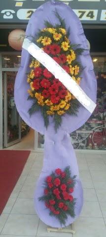 Çift katlı nikah düğüne çiçek modeli  Çanakkale çiçek mağazası , çiçekçi adresleri