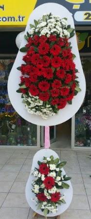 Çift katlı düğün nikah işyeri açılış çiçeği  Çanakkale internetten çiçek satışı
