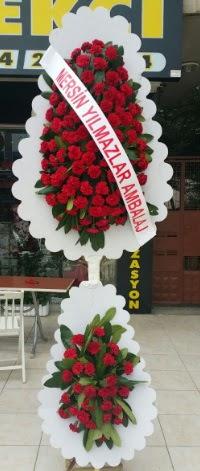 Çift katlı düğün nikah çiçeği modeli  Çanakkale 14 şubat sevgililer günü çiçek