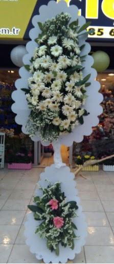 Çift katlı düğün nikah açılış çiçeği  Çanakkale online çiçek gönderme sipariş