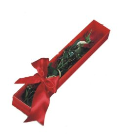 Çanakkale çiçek gönderme  tek kutu gül sade ve sik