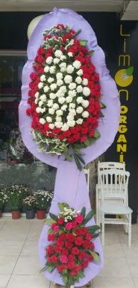 Çift katlı işyeri açılış çiçek modeli  Çanakkale uluslararası çiçek gönderme