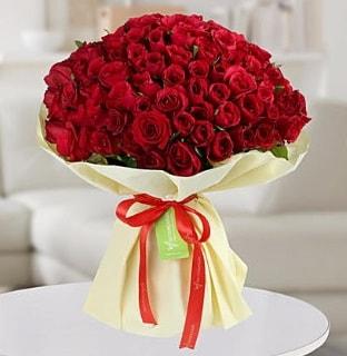 101 adet kırmızı gül buketi koca demet  Çanakkale çiçek mağazası , çiçekçi adresleri