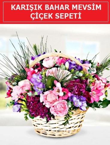 Karışık mevsim bahar çiçekleri  Çanakkale uluslararası çiçek gönderme