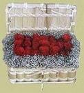 Çanakkale online çiçekçi , çiçek siparişi  Sandikta 11 adet güller - sevdiklerinize en ideal seçim